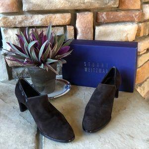 Stuart Weitzman Shoes - Stuart Weitzman Brown Suede Heels